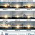 Foto matahari pada pagi hari 10 hari terakhir Bulan Ramadhan 2018 1439 H