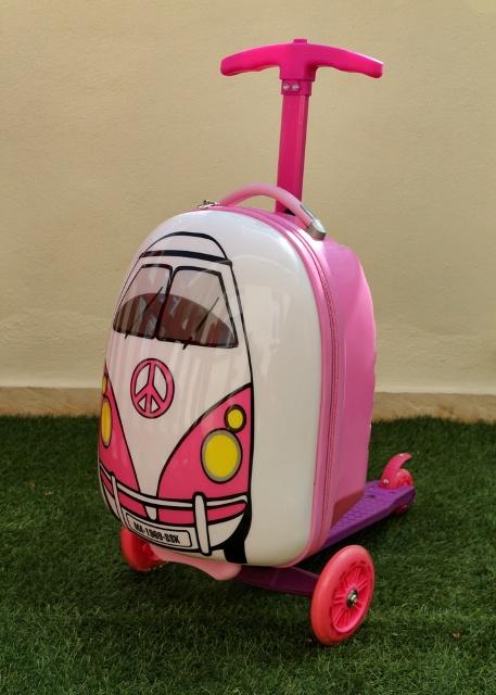 Trolley Infantil Monopatín Superskunk