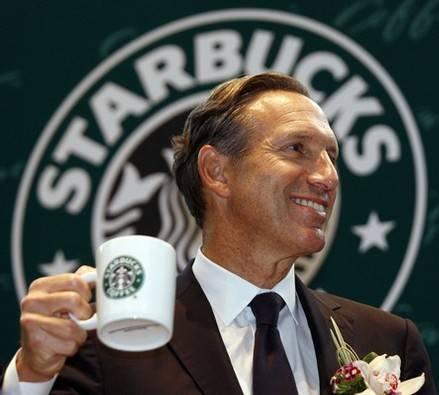 Howard Schultz - linh hồn của Starbucks