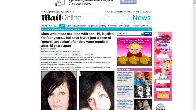 Mãe é presa após gravar sexo com filho de 16
