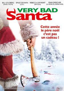 VERY BAD SANTA (SANTA'S SLAY), french poster, comédie, horreur, noël