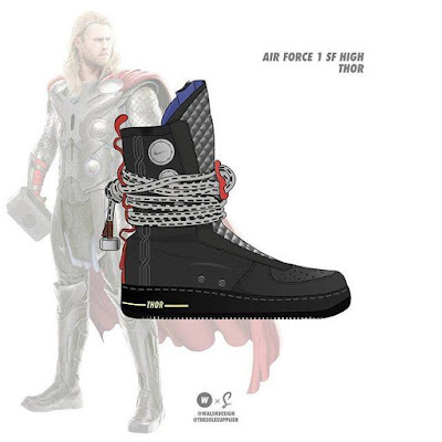 Thor x Nike Force 1 SF High