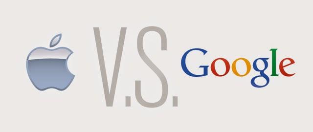 蘋果與Google最新戰役一觸即發