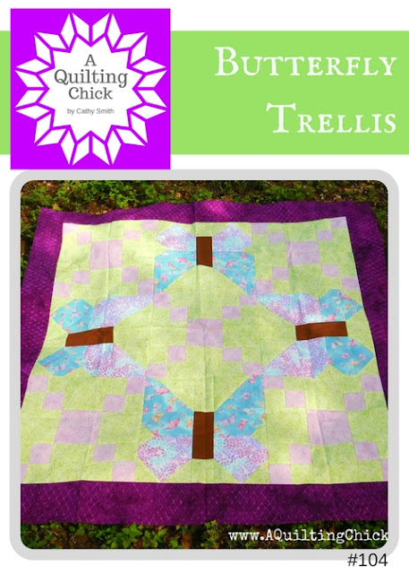 A Quilting Chick - Butterfly Trellis