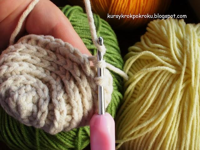 Jak zrobić koszyczek na szydełku? (camel stitch + puff stitch) - samouczek DIY