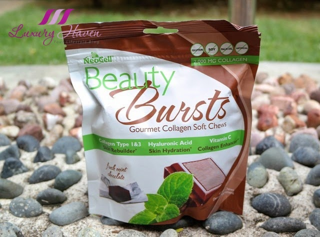 vitacost neocell beauty bursts gourmet collagen chews chocolate