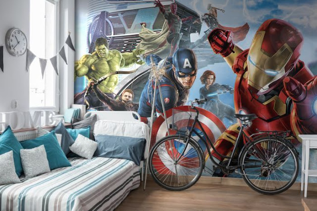 Disney Wall Mural Avengers Marvel
