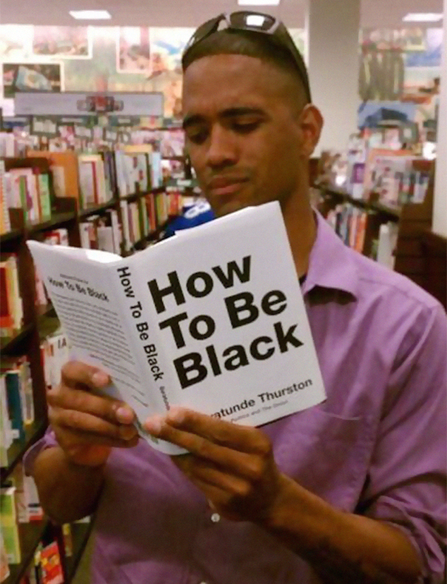 17 Hilarious Pictures Of People Reading All The Wrong Books In Public - Learning 'How To Be Black'