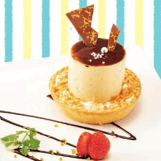 ビスケット風味のブロンドチョコムースタルト(2019夏)