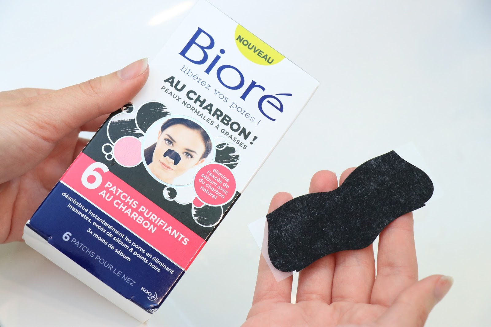 ma routine bior au charbon contre les points noirs les gommettes de melo. Black Bedroom Furniture Sets. Home Design Ideas