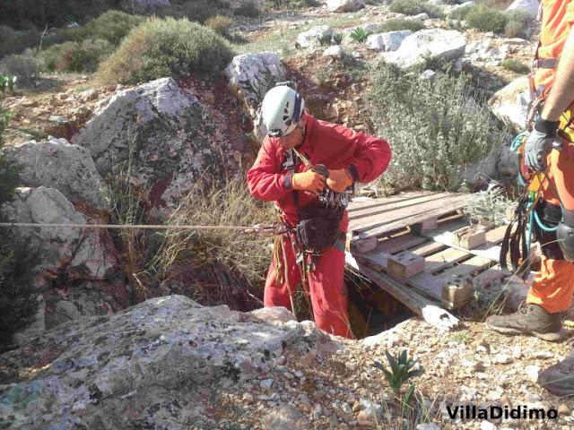 Εθελοντές Σπηλαιολόγοι επισκέφθηκαν και κατέγραψαν σπηλαίο στα Δίδυμα Αργολίδας