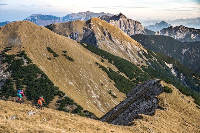 karwendel mtb tour mountainbike fleischbank, petra zeller