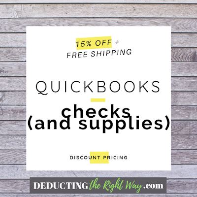 discount code for quickbooks checks