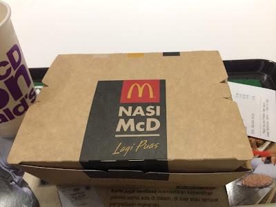 Jom Rasa Menu Baru, Nasi McD