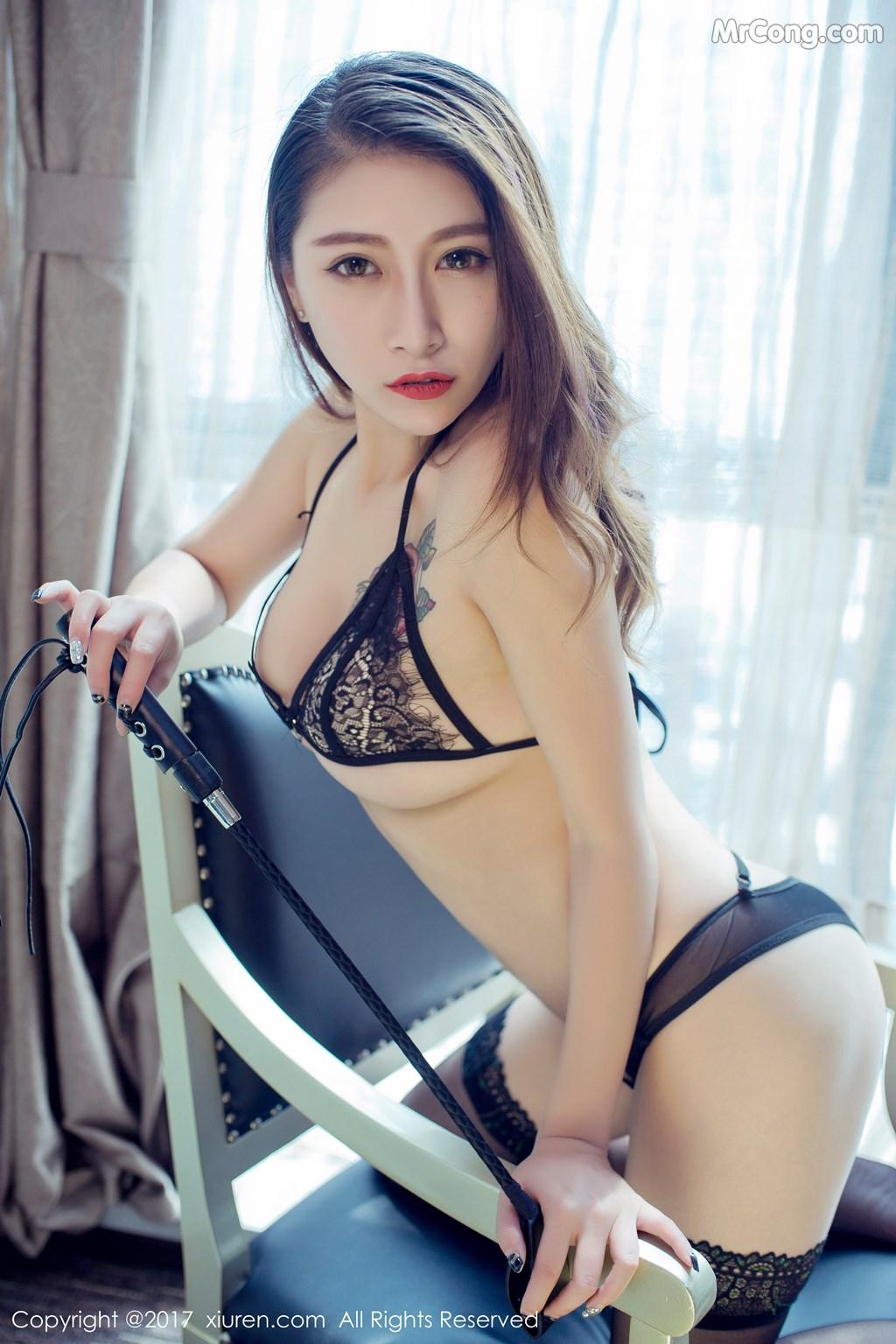 Image XIUREN-No.812-Du-Hua-Hua-MrCong.com-014 in post XIUREN No.812: Người mẫu Du Hua Hua (杜花花) (48 ảnh)