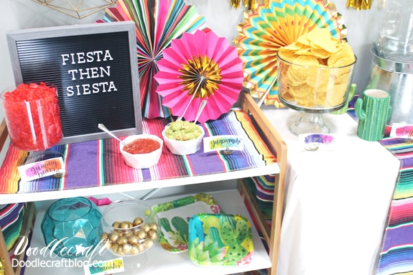 Fiesta Party Supplies + Decoration Ideas with Oriental Trading!