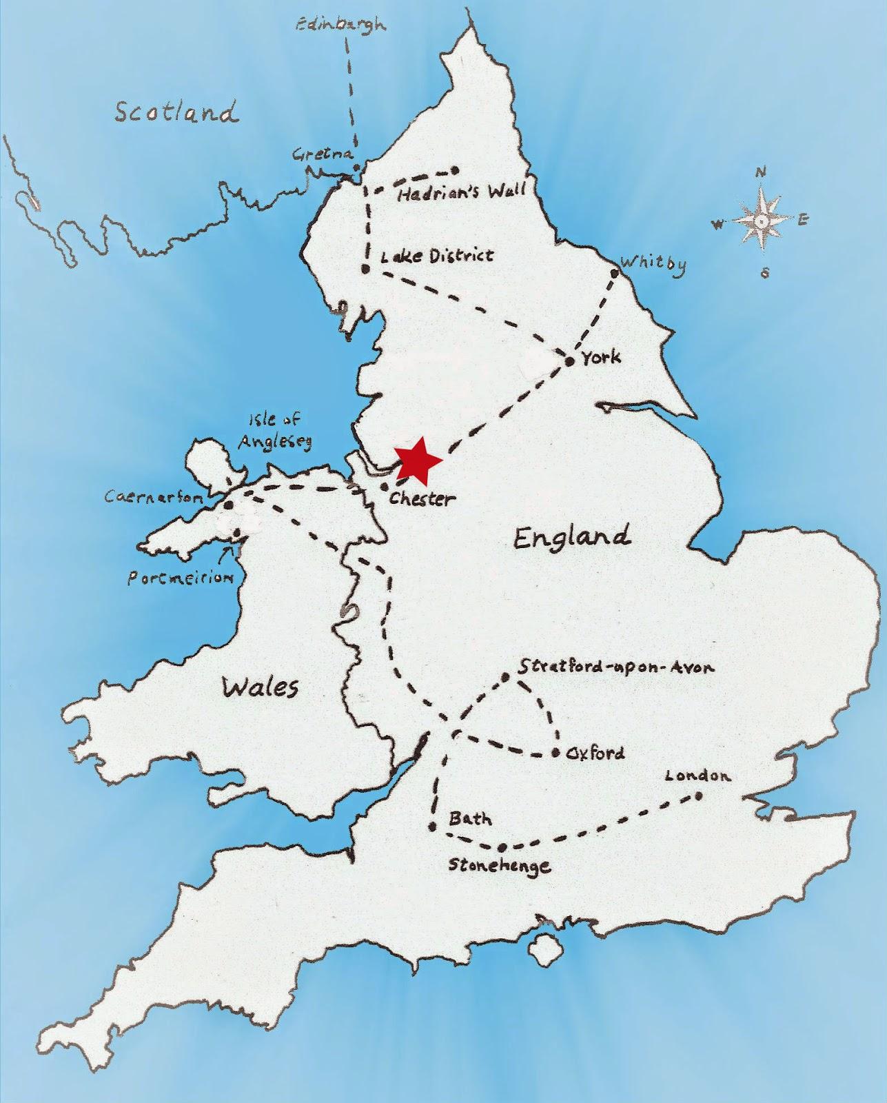 Map Of England Chester.Map Of England Chester Twitterleesclub