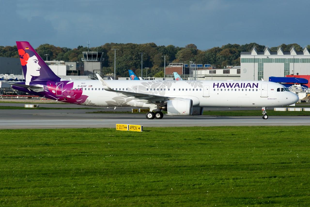 Airbus Hamburg Finkenwerder News: A321-271N, Hawaiian ...