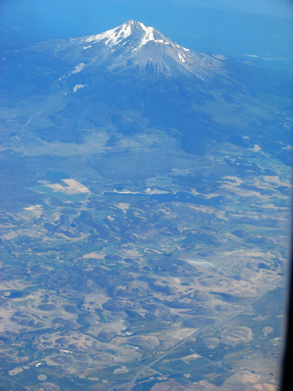 was it some kind of odd field of cinder cones it didn t make a lot of sense until the eruption of mt st helens in 1980