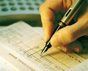 Não assine cheques em branco -