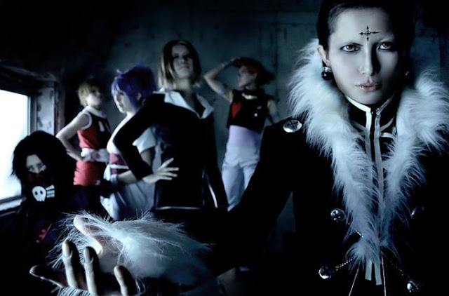 cosplay hunter x hunter phantom troupe