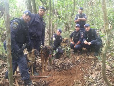 Corpos são localizados em cemitério clandestino pela Guarda Civil