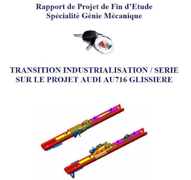 Télécharger Rapport de Projet de fin d'etude spécialité Génie Mécanique