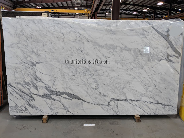White Marble Statuary Slabs NYC