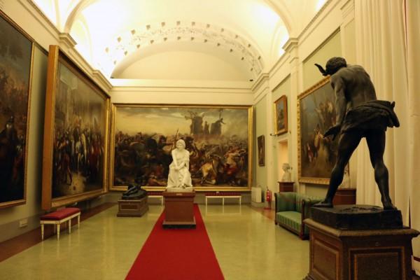 Palatino & Arte Moderna em Florença