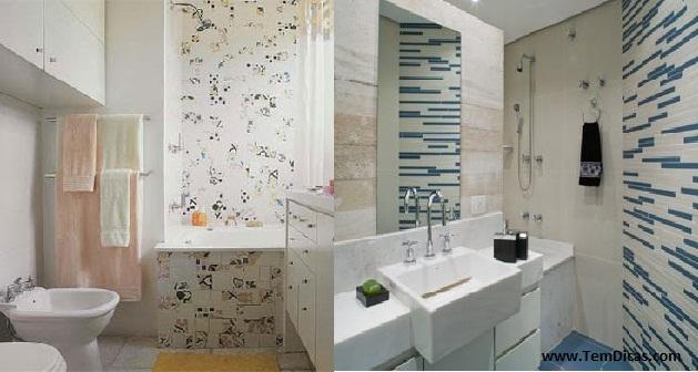Imagens De Banheiros Simples Decorados : Decora??o simples para banheiros pequenos dicas fotos
