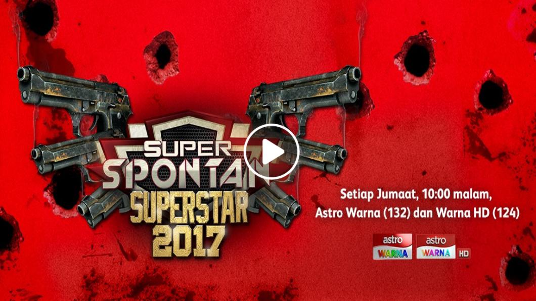 Super Spontan Superstar 2017 -Minggu 8