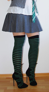 [Halloween-Special] Costumes out of my Closet - Teil III: Harry Potter: Slytherin Girl