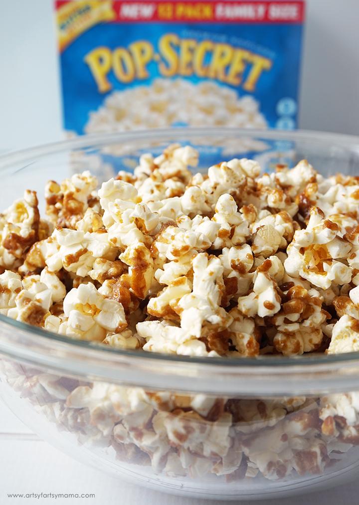 Caramel Popcorn Recipe