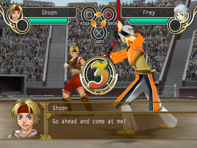 Suikoden V PS2 GAME ISO Gameplay