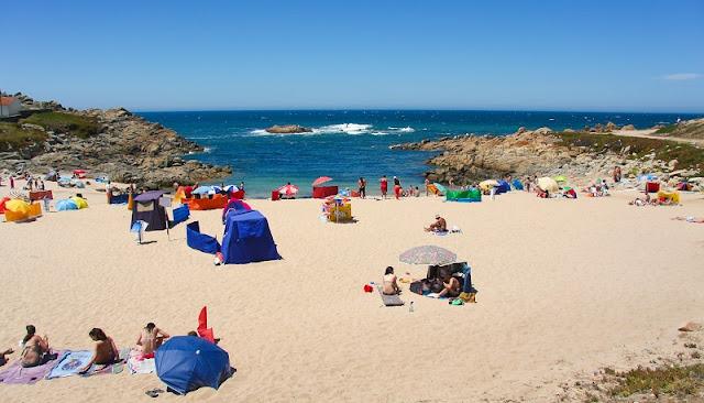 Praia Leça da Palmeira no Porto