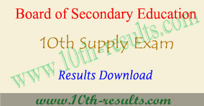 AP 10th supply results 2017, ap ssc supplementary result 2018