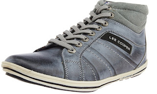 Lee Cooper Men's Leather Sneakers online shopping