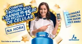 Cadastrar Promoção Ultragaz 2018 Compre Ganhe 15 Reais Recarga Celular