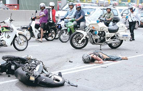 Kemalangan Melibatkan Motorsikal