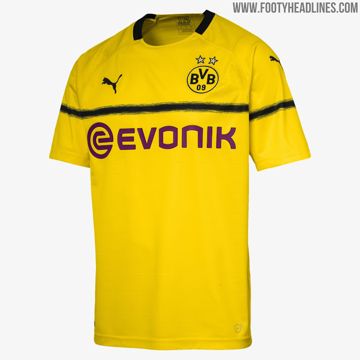 Dortmund 18-19 Champions League   Cup Kit Released - Leaked Soccer ... 1d5340198