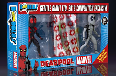 San Diego Comic-Con 2016 Exclusive Marvel's Secret Wars Deadpool Micro Bobbles Box Set by Gentle Giant