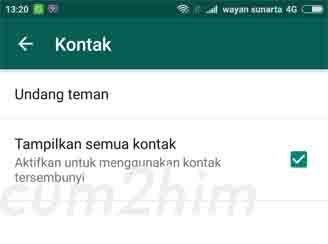 Cara Mengembalikan Kontak WhatsApp Hilang/tidak muncul di Android