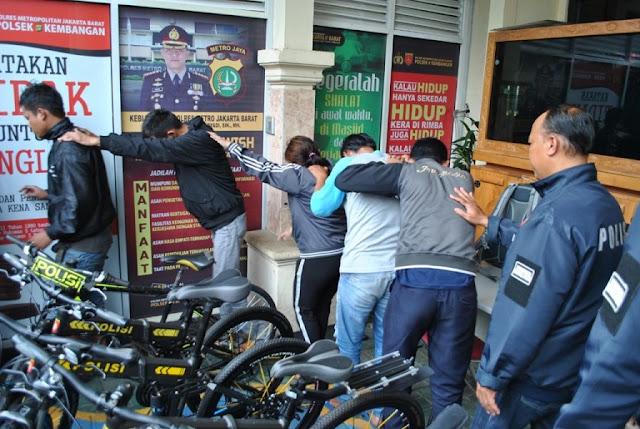 Enam Pelaku Pengancam Petugas Dishub di Joglo Diciduk Polisi