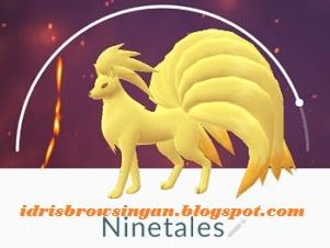 Ninetales Pokemon GO