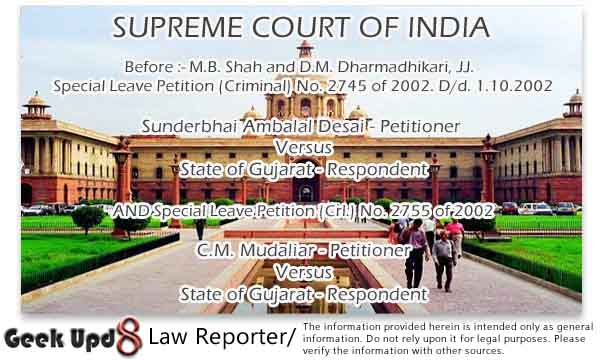 Scope of Section 451 Cr.P.C. explained - Powers under Section 451 Cr.P.C. should be exercised expeditiously and judiciously