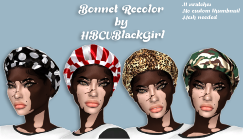 The Black Simmer: Satin Bonnet Recolor by HBCUBLACKGIRL