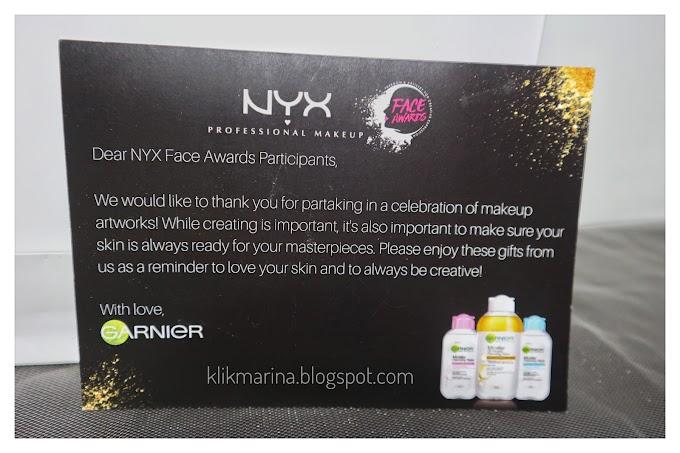 Dapet Surprise dari NYX Face Awards dan Garnier