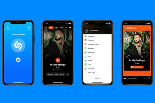 تطبيق Shazam يضيف خيار مشاركة في قصص أنستقرام