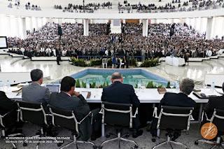 Novo templo-sede AD Belenzinho. Setima 7ª Assembleia Geral Extraordinária da CGADB. Rua Doutor Fonn, 140, São Paulo  SP. Imagem Tiago Bertulino.