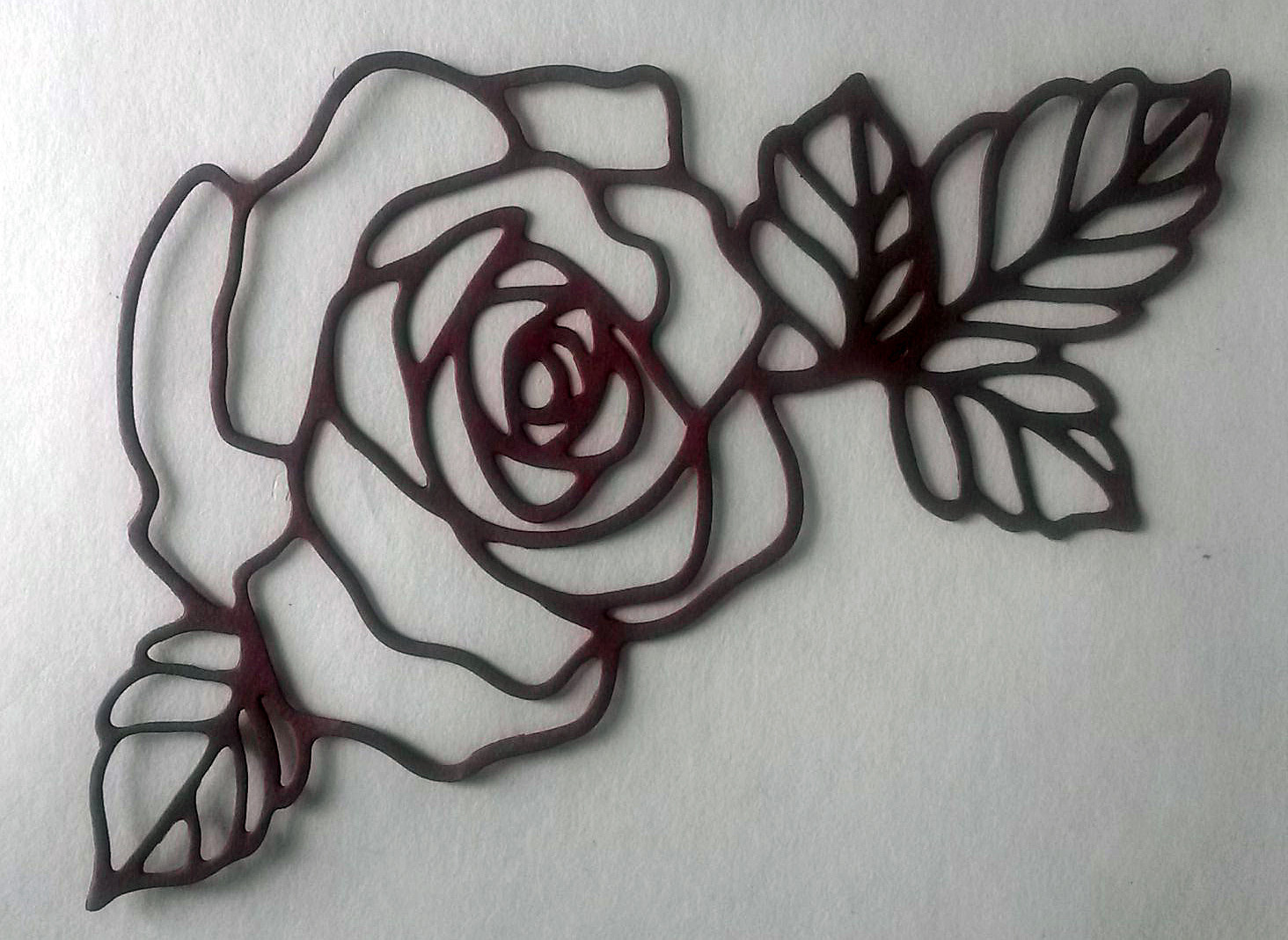 Rose for Saint Valentine's Day | Photoshop Tutorials ... |Rose Cut Out
